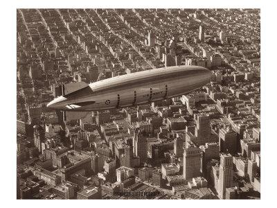 USS Macon, San Francisco, 1933
