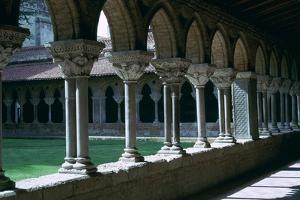 Cloister in the Abbey of Mossaic, 11th Century by CM Dixon