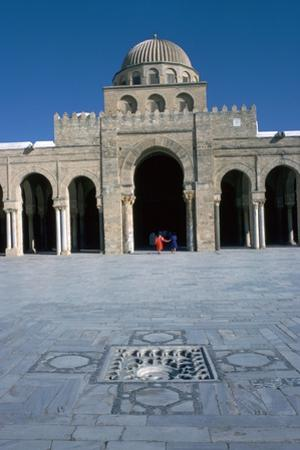 Courtyard of the Great Mosque in Kairoun, 7th Century