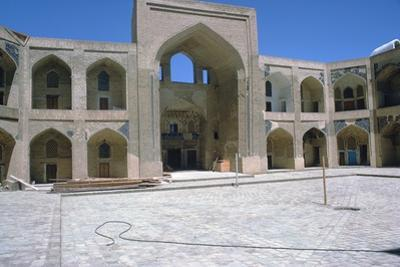 Courtyard of the Kalian Mosque, 15th Century