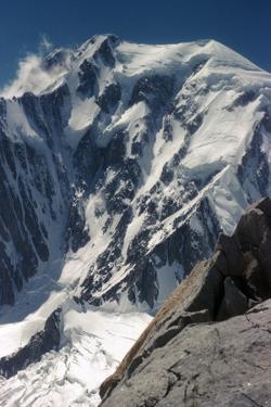 Italian Face of Mont Blanc by CM Dixon