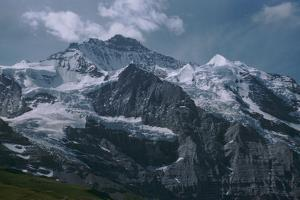 Jungfrau in the Swiss Alps by CM Dixon