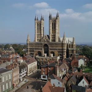Lincoln Cathedral from the West by CM Dixon