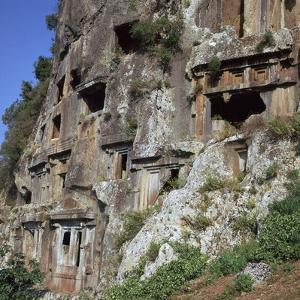 Rock-Cut Tombs in Telmessos Lykian, 4th Century Bc by CM Dixon