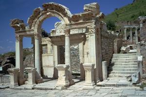 Temple of Hadrian in Ephesus, 2nd Century by CM Dixon