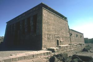 Temple of Hathor, Dendera, Egypt, Late Ptolemaic and Roman Periods, C125 Bc-C60 Ad by CM Dixon