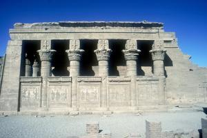 The Mammisi (Birth-House), Temple of Hathor, Dendera, Egypt, 125 BC - 60 Ad by CM Dixon