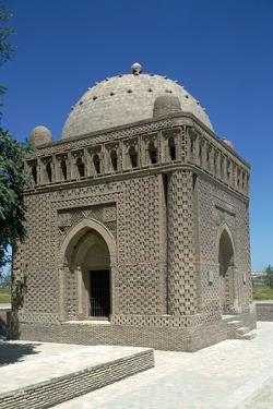 The Mausoleum of Ismail Samani, 10th Century by CM Dixon