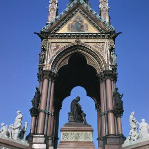 The West Side of the Albert Memorial, 19th Century by CM Dixon