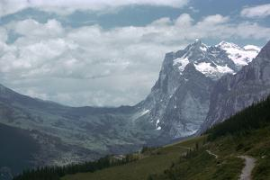 The Wetterhorn from Alpiglen by CM Dixon