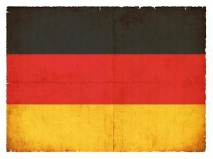 Grunge Flag Of Germany by cmfotoworks