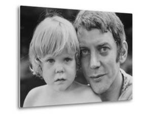 Donald Sutherland with Son Kiefer by Co Rentmeester