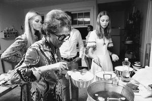 Ford Modeling Agency Owner, Eileen Ford Cooks with Models in Her Mansion, New York, 1970 by Co Rentmeester