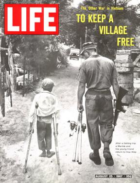 The Other War in Vietnam: To Keep a Village Free, August 25, 1967 by Co Rentmeester