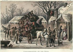 Coach at Red Lion 1868