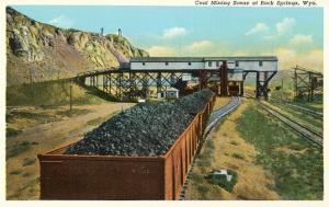 Coal Mining, Rock Springs, Wyoming