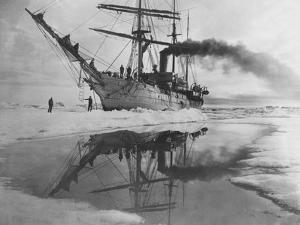 Coast Guard Cutter in Antarctica