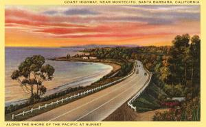 Coast Highway, Santa Barbara, California