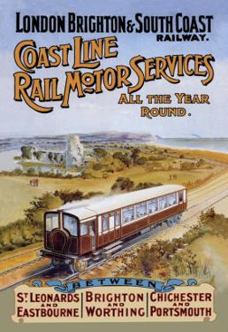 Coast Line Rail Motor Services All the Year Round