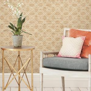 Coastal Trellis Peel & Stick Wallpaper