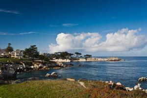 Coastline, Monterey Bay, Monterey, California, USA