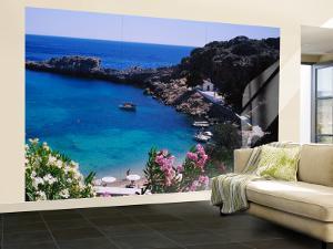 Coastline of Rhodes, Greece