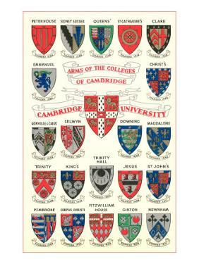 Coats of Arms of the Colleges of Cambridge