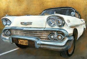 Chevrolet 58 Blanche by Cobe