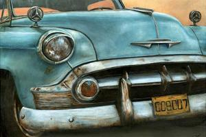 Chevrolet Bel Air Bleue by Cobe