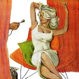 """Mother is a Movie Queen - Saturday Evening Post """"Leading Ladies"""", September 30, 1961 pg.41 by Coby Whitmore"""