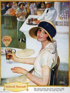 Coca-Cola Ad, 1924