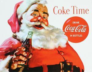 Coca Cola Coke Santa Claus Christmas