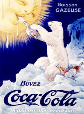Coca-Cola French Polar Bear