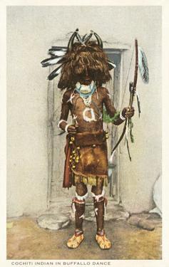 Cochiti Pueblo Indian in Buffalo Dance