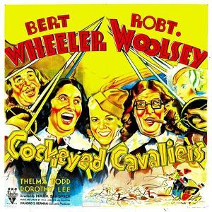 Cockeyed Cavaliers, Bert Wheeler, Thelma Todd, Robert Woolsey, 1934