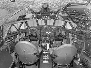 Cockpit of Comet 3 Aircraft