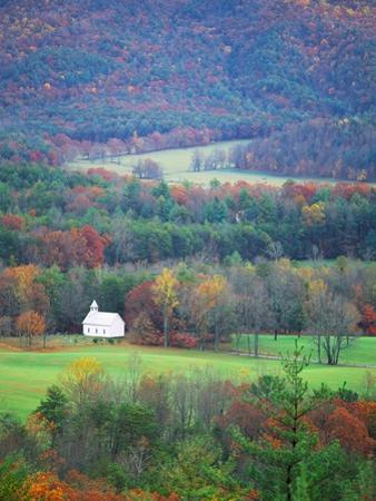 Rural Setting in Great Smoky Mountains by Cody Wood