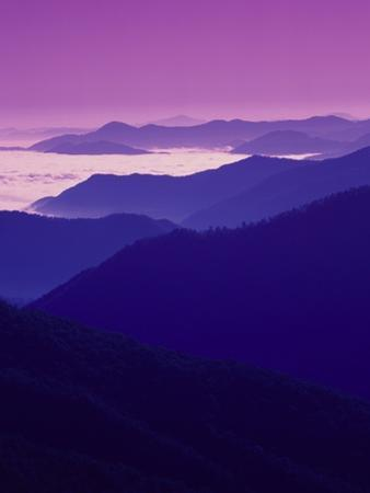 Twilight over Great Smoky Mountains by Cody Wood