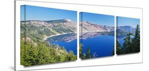 Crater Lake 3-Piece Canvas Set by Cody York