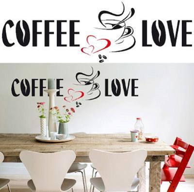 Coffee Love 26 Wall Stickers