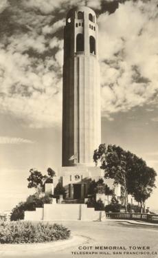 Coit Memorial Tower, San Francisco, California
