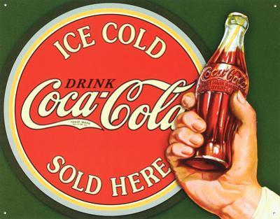 COKE - Ice Cold Bullseye