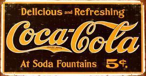 Coke – Weathered 1910 Logo