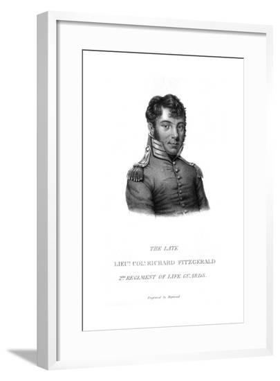Col. Richard Fitzgerald--Framed Giclee Print