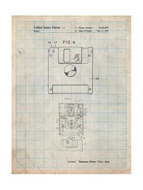 3 1/2 Inch Floppy Disk Patent by Cole Borders