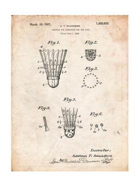 Badminton Shuttle Patent by Cole Borders
