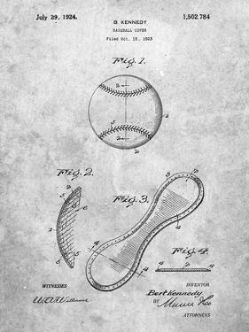 Baseball Patent 1923 by Cole Borders