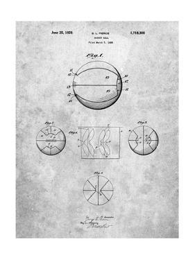 Basketball 1929 Game Ball Patent by Cole Borders