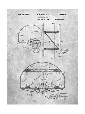 Basketball Goal Patent by Cole Borders