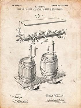 Beer Keg Cold Air Pressure Tap by Cole Borders